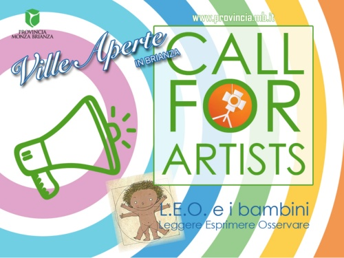 CALL FOR ARTISTS - L.E.O. E I BAMBINI