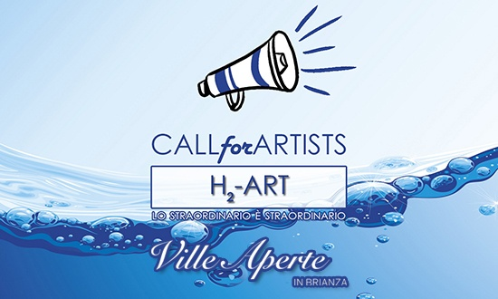 Call for Artists H₂-ART: La Provincia MB cerca artisti per l'edizione 2020 di Ville Aperte in Brianza